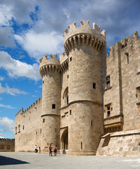 Knights Grand Master Palace in the Rhodes, Greece