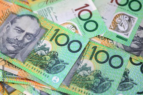 In de dag Australië Australian Money