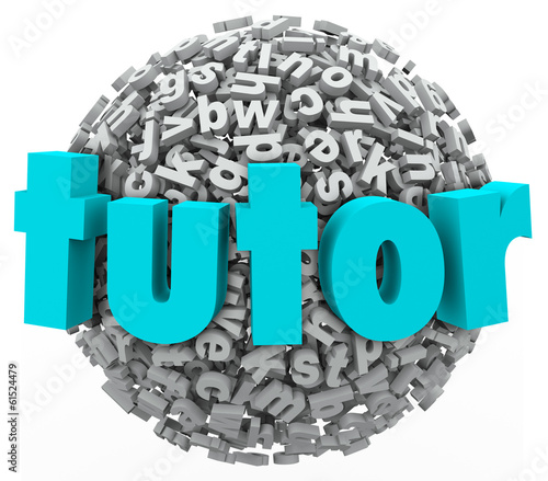 Tutor Letter Ball Sphere Learning Lessons Private Teaching Writi