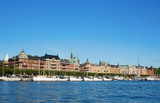 Beautiful Stockholm cityscape