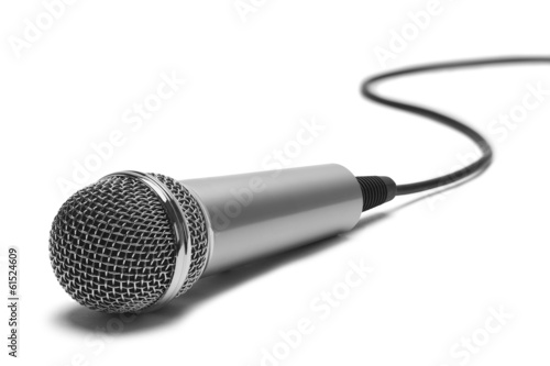 canvas print picture Microphone