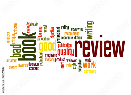 Book review word cloud