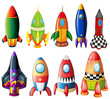 Colorful rockets - 61525825
