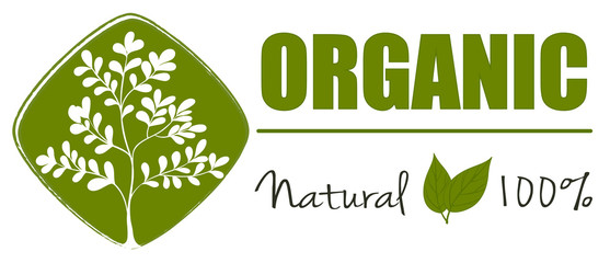 A natural organic label