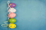 Easter holiday background with copy space