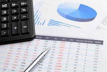 Chart and calculator
