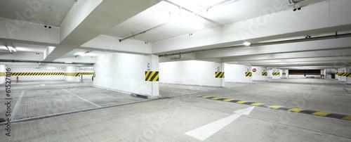 Interor of parking lot - 61527816