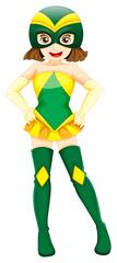 A cute superhero