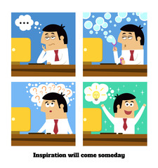 Inspiration will come