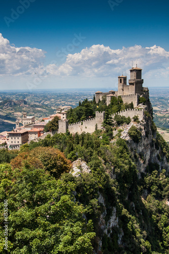 Castle of San Marino, Italy