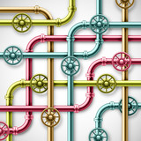 Colorful pipes