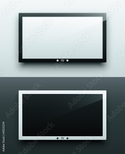 TV screen hanging