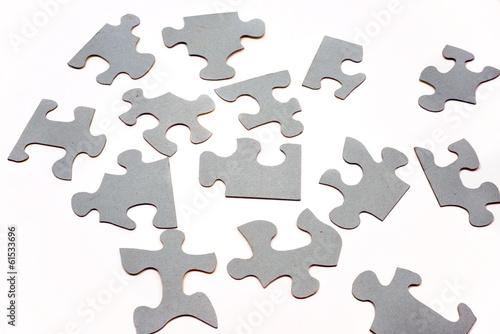 graues Puzzle abstrakt