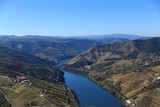 landscape of Alto Duro Wine region, Portugal