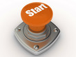 START button Isolated High resolution. 3D image