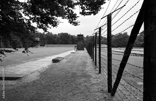 Border line to concentration camp Stutthof