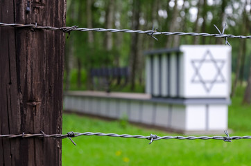 Jewish graves in Stutthof concentration camp