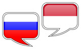 Russian-Indonesian Conversation