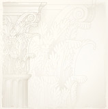 architectural background , corinthian column