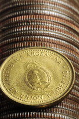 Peso ( moneda de Argentina ) Argentine peso بيزو أرجنتيني