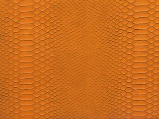 snake skin orange color