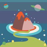 Alien landscape - 61539001