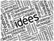 """Nuage de Tags """"IDEES"""" (créativité solutions imagination idées)"""