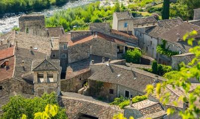 Vogüé en Ardèche, plus beau village de France