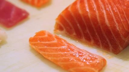 fish and shrimp slicing knife