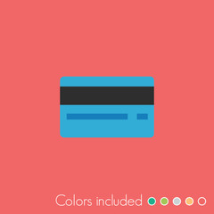 Credit Card - FLAT UI ICON COLLECTION