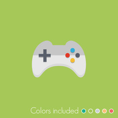 Gamepad - FLAT UI ICON COLLECTION