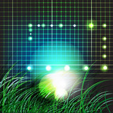 01_grass_Background_lights