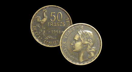 50 French francs 1951