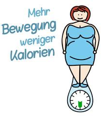 Mehr Bewegung weniger Kalorien