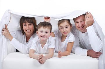 Glückliche Familie - happy family