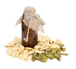 Pumpkin seeds oil.