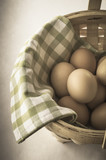 Egg Basket - Vintage Effect