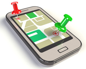 Smartphone Routenplaner