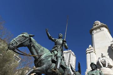 Tribute to Cervantes, Madrid