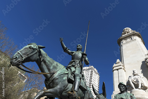 Tribute to Cervantes, Madrid