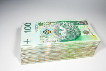 Polish money - 100 zloty PLN