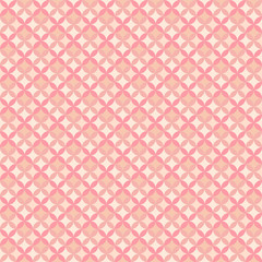 Abstract geometric floral pattern wallpaper. Vector illustration