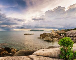 Beautiful tropical landscape. Samui Island, Thailand