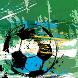 soccer / football illustration, argentina
