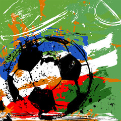 soccer / football illustration
