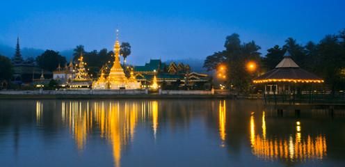 Wat Jong Klang in Mae Hong Son province of Thailand