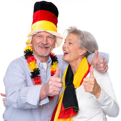German senior sport fans