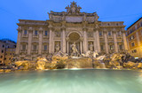 Trevi Fountain with no people