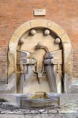 Roma - La Fontana dei Libri in Via degli Staderari