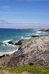 côte rocheuse de Port Bara